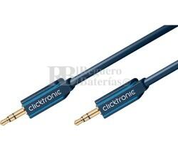 Conexión Jack 3,5mm estéreo (M) a Jack 3,5mm estéreo (M) 10m