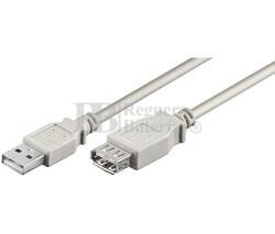 Conexión USB-A 2.0 macho-hembra USB-A 2.0, 3 metros