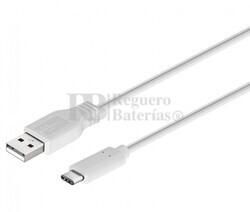 Conexión USB-C macho-macho USB-A 2.0 1,0m