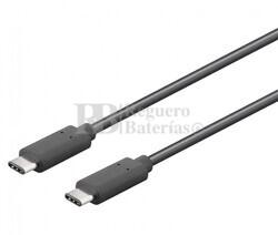 Conexión USB-C macho-macho USB-C 2.0 1,0m
