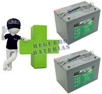 Baterías de Gel para silla de ruedas 12 Voltios 60 Amperios HAZE HZY-EV12-60