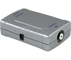 Convertidor de señal digital coaxial a óptica digital