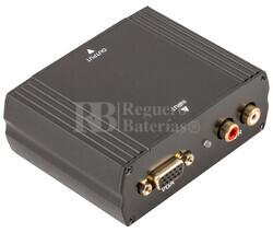 Convertidor de VGA + audio R/L a HDMI