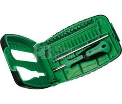 Destornillador con puntas de precisión intercambiables 14 Piezas