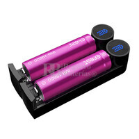 Efest k2 Slim cargador dual baterías Litio 18650, 20700..