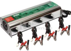 Estación de carga para 4 baterías 12 Voltios 5 Amperios