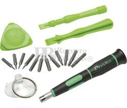 Estuche de herramientas para reparación de productos Apple 16 en 1