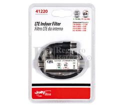Filtro atenuador de frecuencias LTE (4G) para interiores