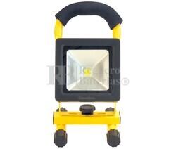 Foco portátil recargable LED 10W