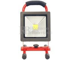 Foco portátil recargable LED 20W