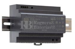 Fuente alimentación 24 Voltios 6,25 Amperios HDR-150-24