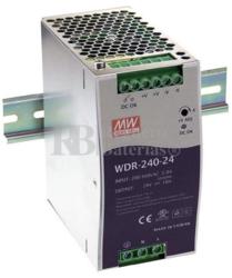 Fuente alimentación 24 Voltios 10 Amperios WDR-240-24