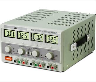 Fuente de alimentacion de Laboratorio Dual Digital Regulable  de 0-30Vcc y 5Vcc Fijo y  0-3 Amperios, 1 Amperio-5Vcc