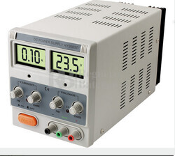 Fuente de alimentacion de Laboratorio Digital Regulable de 3 a 30 Voltios y de 0 a 5 Amperios