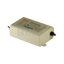 Fuente de Alimentaci�n para iluminaci�n Led de interior 12-18 voltios 25.2 watios PCD-25-1400A entrada de 90 a 135VCA