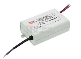 Fuente de Alimentación para iluminación Led de interior 12-18 voltios 25.2 watios PCD-25-1400B entrada de 180 a 295VCA