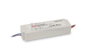 Fuente de Alimentación para iluminación Led de interior 12 voltios 102 watios LPV-100-12