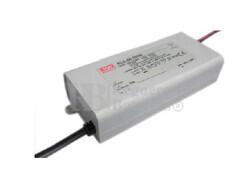 Fuente de Alimentación para iluminación Led de interior 15-25 voltios 60 watios PLD-60-2400B