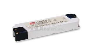 Fuente de Alimentaci�n para iluminaci�n Led de interior 15-29 voltios 40.6 watios PLM-40E-1400