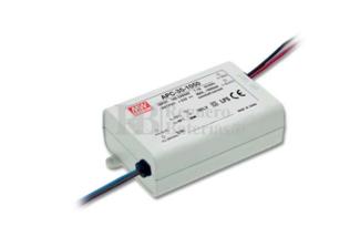 Fuente de Alimentación para iluminación Led de interior 15-50 voltios 35 watios APC-35-700