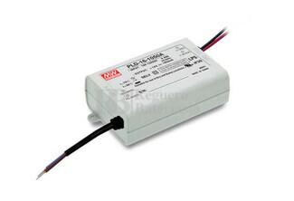 Fuente de Alimentaci�n para iluminaci�n Led de interior 16-24 voltios 16,8 watios PLD-16-700B entrada de 180 a 295VCA