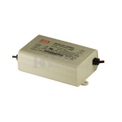 Fuente de Alimentaci�n para iluminaci�n Led de interior 16-24 voltios 25.2 watios PCD-25-1050A entrada de 90 a 135VCA
