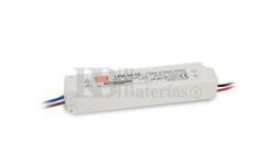 Fuente de Alimentaci�n para iluminaci�n Led de interior 12 voltios 18 watios LPH-18-12