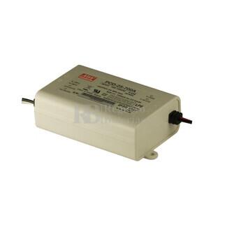 Fuente de Alimentaci�n para iluminaci�n Led de interior 24-36 voltios 25.2 watios PCD-25-700A entrada de 90 a 135VCA