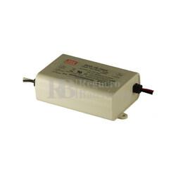 Fuente de Alimentaci�n para iluminaci�n Led de interior 24-48 voltios 16,8 watios PCD-16-350A entrada de 90 a 135VCA