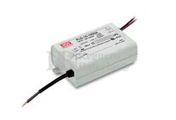 Fuente de Alimentaci�n para iluminaci�n Led de interior 24-48 voltios 16,8 watios PLD-16-350A entrada de 90 a 135VCA