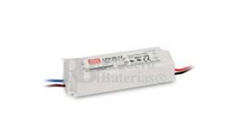Fuente de Alimentaci�n para iluminaci�n Led de interior 24 voltios 20.2 watios LPV-20-24