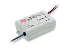 Fuente de Alimentaci�n para iluminaci�n Led de interior 24 voltios 25,2 watios 1.05 amperios APV-25-24