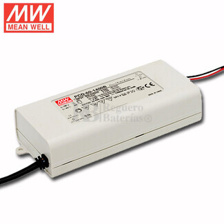Fuente de Alimentación para iluminación Led de interior 25-43 voltios 60.2 watios PCD-60-1400B