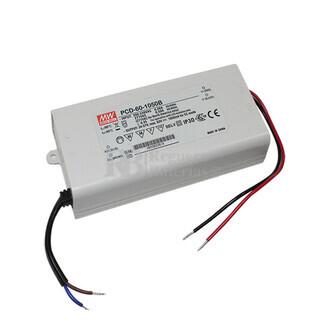 Fuente de Alimentación para iluminación Led de interior 34-57 voltios 59.85 watios PCD-60-1050B