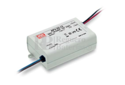 Fuente de Alimentaci�n para iluminaci�n Led de interior 36 voltios 25,2 watios 0.7 amperios APV-25-36