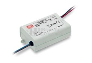 Fuente de Alimentación para iluminación Led de interior 36 voltios 25,2 watios 0.7 amperios APV-25-36
