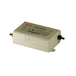 Fuente de Alimentaci�n para iluminaci�n Led de interior 40-58 voltios 20.3 watios PCD-25-350A entrada de 90 a 135VCA
