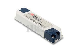 Fuente de Alimentaci�n para iluminaci�n Led de interior 42-72 voltios 25.2 watios PLM-25E-350