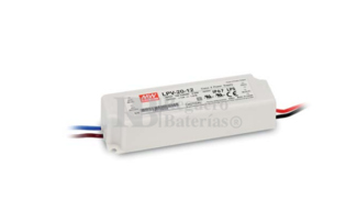 Fuente de Alimentaci�n para iluminaci�n Led de interior 5 voltios 15 watios LPV-20-5