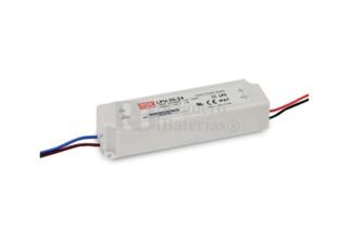 Fuente de Alimentación para iluminación Led de interior 5 voltios 30 watios LPV-35-5