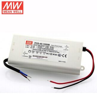 Fuente de Alimentaci�n para iluminaci�n Led de interior 70-108 voltios 37.8 watios PCD-40-350B