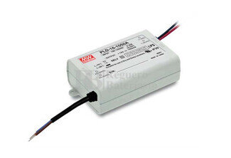 Fuente de Alimentaci�n para iluminaci�n Led de interior 8-12 voltios 16,8 watios PLD-16-1400A entrada de 90 a 135VCA