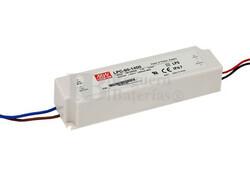 Fuente de Alimentaci�n para iluminaci�n Led de interior 9-34 voltios 59.5 watios LPC-60-1750