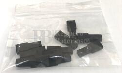 Funda conector faston hembra 6.35 mm negra ( Bolsa 10 Unidades )