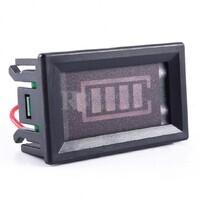 Indicador de estado de carga para baterías de 12 Voltios