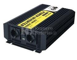Inversor Onda Pura 24 voltios a 220 voltios 1500 watios