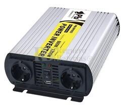 Inversor Onda Pura 24 voltios a 220 voltios 600 watios