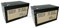 Kit baterías 24 Voltios 15 Amperios Litio LifePo4