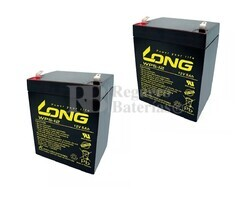 Kit baterías 24 Voltios 5 Amperios para Vehículos Eléctricos