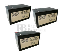 Kit baterías para 36 voltios 15 Amperios Litio LifePo4